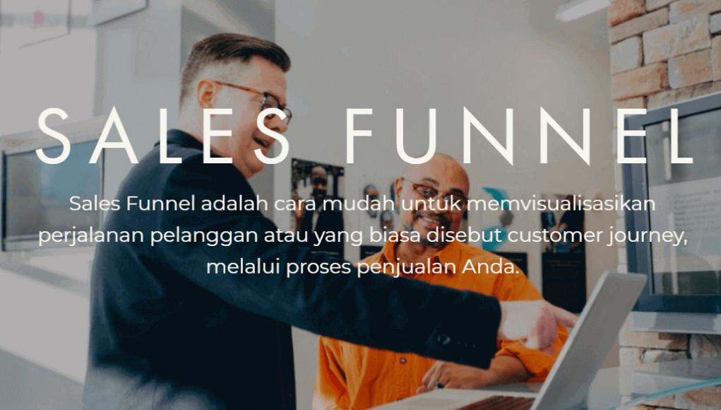 lamin etam Menerapkan Sales Funnel Agar Bisnis Online Sukses