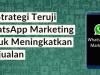 WhatsApp Marketing Untuk Meningkatkan Penjualan, lamin etam digital marketing