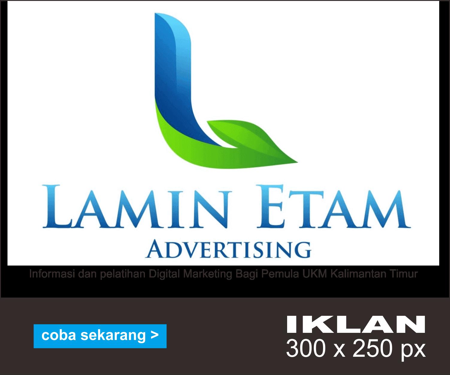 Iklan Lamin Etam